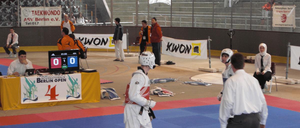 Bericht Header TKD - SSC Taekwondokas erkaempfen Silber und Bronze bei Berlin Open