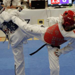 Taekwondo - Zweikampf (Wettkampf) Training